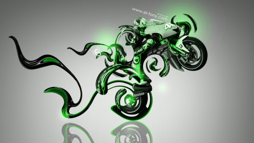 Moto-GP-Fantasy-Plastic-Bike-2014-Green-Neon-design-by-Tony-Kokhan-[www.el-tony.com]