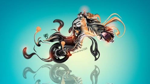 Moto-Yamaha-Vmax-Fantasy-Tiger-Plastic-Bike-2014-design-by-Tony-Kokhan-[www.el-tony.com]