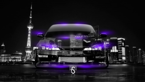 Nissan-Silvia-S14-JDM-Crystal-City-Car-2014-Violet-Neon-design-by-Tony-Kokhan-[www.el-tony.com]