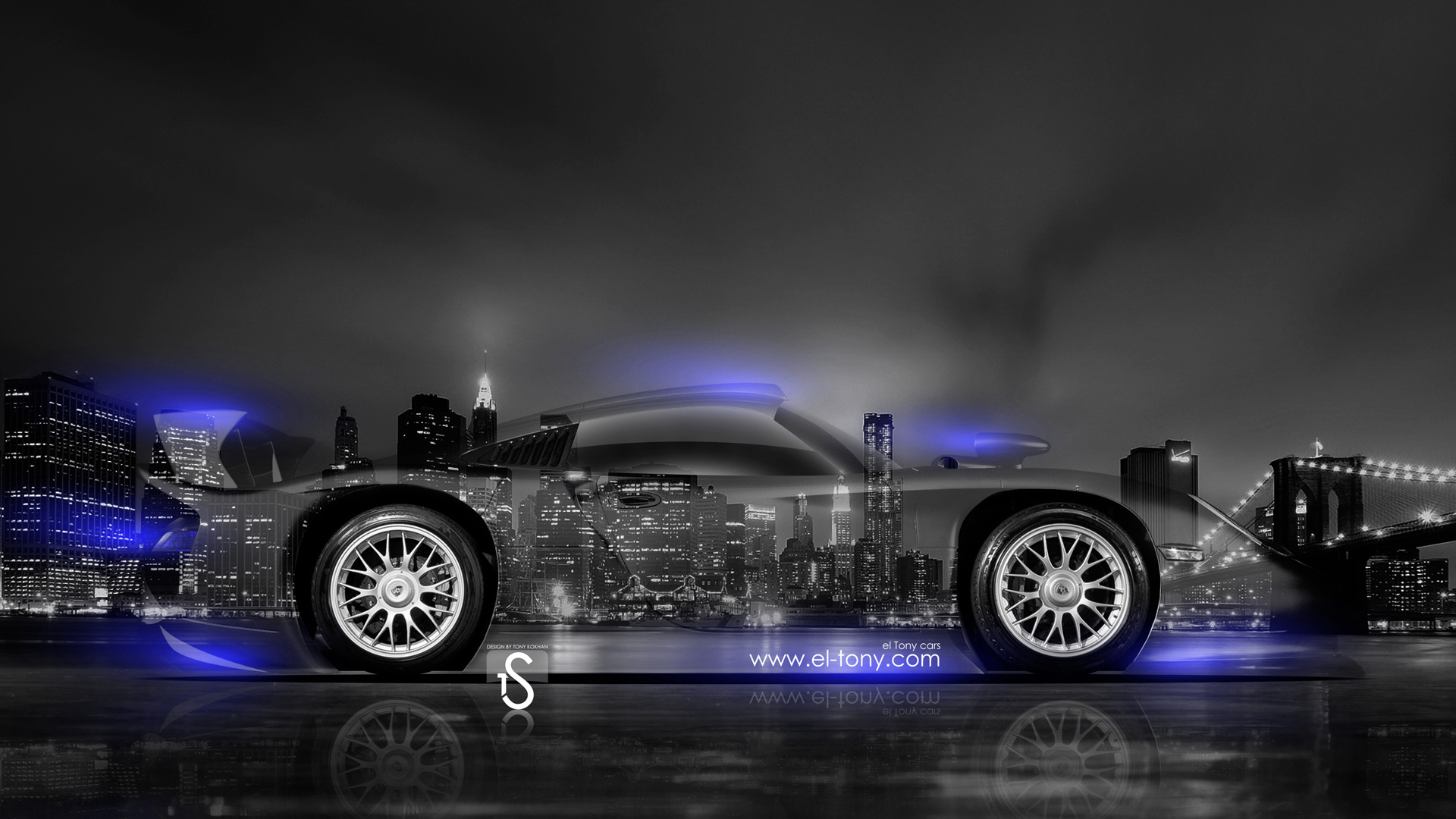 Captivating Porsche 9 Gt1 Crystal City Car