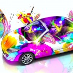 Reno Fantasy Butterfly Car 2014