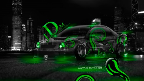 Subaru-Impreza-WXR-STI-JDM-Green-Effects-Crystal-City-Car-2014-by-Tony-Kokhan-[www.el-tony.com]
