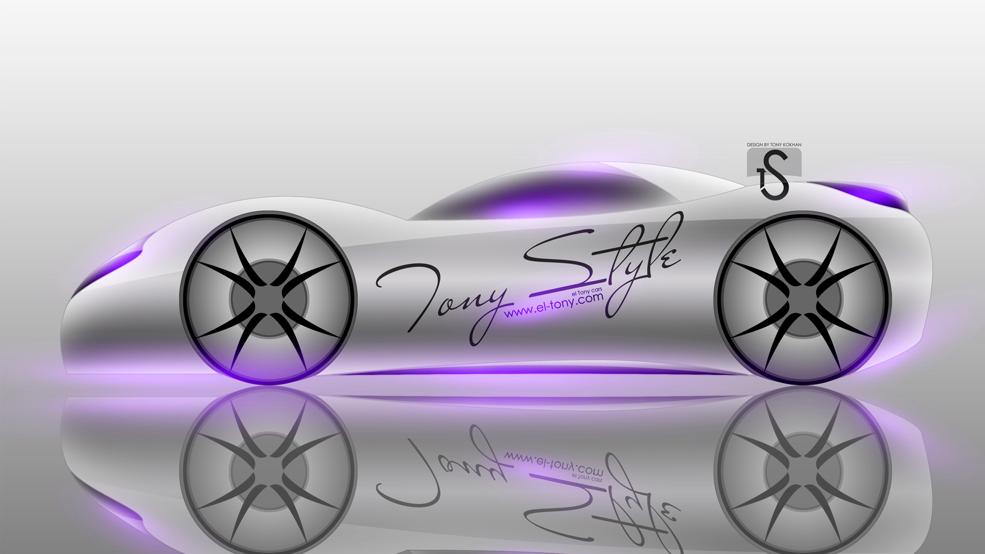 Merveilleux ... Tony Style Simple Car 2014 Violet Neon HD  ...