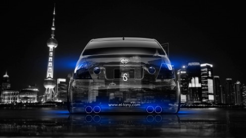 Toyota-Altezza-JDM-Back-Crystal-City-Car-2014-Blue-Neon-design-by-Tony-Kokhan-[www.el-tony.com]