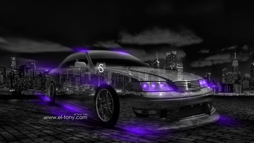 Toyota-Mark-2-JZX100-JDM-Crystal-City-Car-2014-Violet-Neon-design-by-Tony-Kokhan-[www.el-tony.com]
