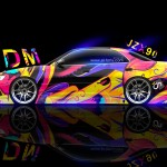 Toyota Mark2 JZX90 JDM Abstract Aerography 2014