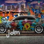 Toyota Mark2 JZX90 JDM Graffiti Crystal City Car 2014
