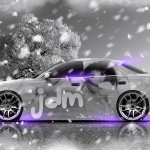 Toyota Mark2 JZX90 JDM Winter Girl Aerography 2014