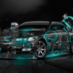 Toyota Mark2 JZX100 JDM Effects Crystal City Car 2014