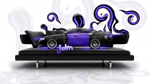 Toyota-Mark2-JZX90-JDM-Effects-Crystal-Сouch-Car-2014-Violet-Neon-design-by-Tony-Kokhan-[www.el-tony.com]