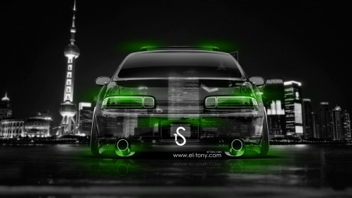 Toyota-Soarer-JDM-Back-Crystal-City-Car-2014-Green-Neon-design-by-Tony-Kokhan-[www.el-tony.com]