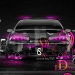 Toyota Soarer JDM Effects Back Crystal City Car 2014