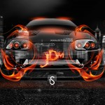 Toyota Supra JDM Fire Crystal City Car 2014