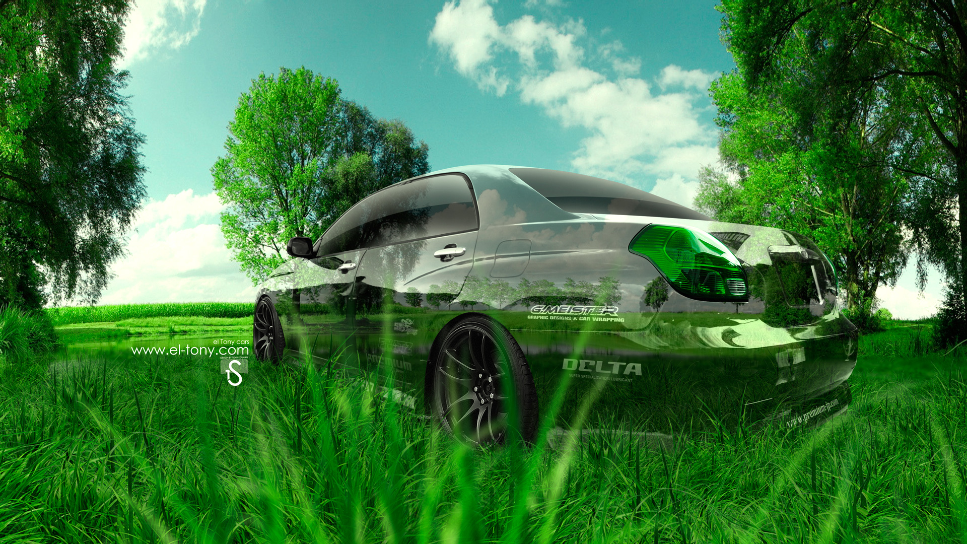 Charmant Toyota Verossa JZX110 JDM Crystal Nature Car 2014