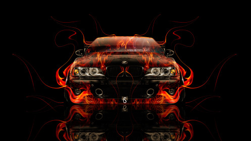BMW-M5-E39-Tuning-Front-Fire-Car-2014-HD-Wallpapers-design-by-Tony-Kokhan-[www.el-tony.com]