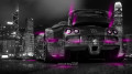 Bugatti-Veyron-Back-Side-Crystal-City-Car-2014-Pink-Neon-design-by-Tony-Kokhan-[www.el-tony.com]
