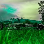 F1 Side Crystal Nature Car 2014