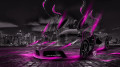 Ferrari-Laferrari-Fantasy-Crystal-City-Energy-Car-2014-Pink-Neon-design-by-Tony-Kokhan-[www.el-tony.com]