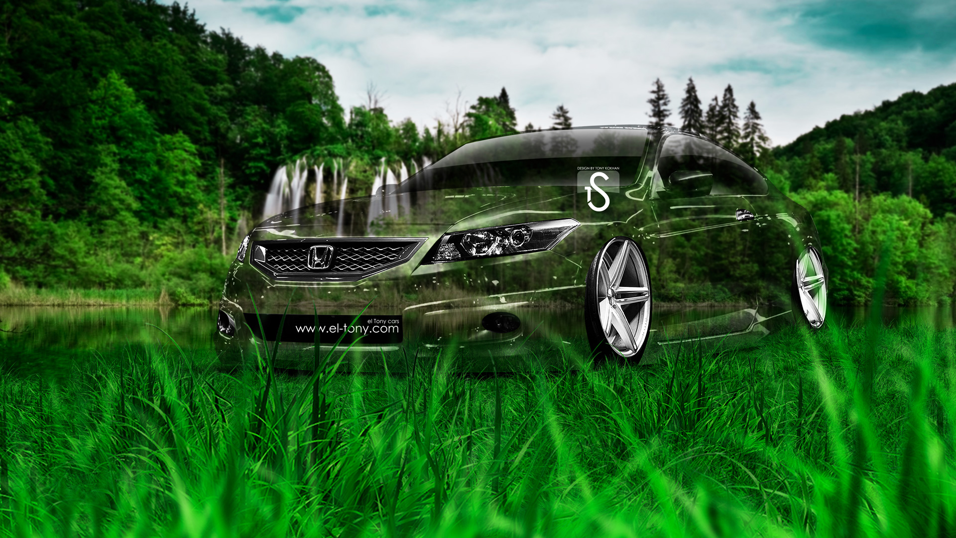 Merveilleux Honda Accord Coupe JDM Crystal Nature Car 2014