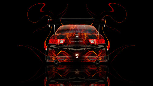 Honda-Accord-JDM-Tuning-Back-Fire-Car-2014-HD-Wallpapers-desing-by-Tony-Kokhan-[www.el-tony.com]