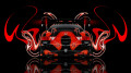 Honda-Accord-JDM-Tuning-Back-Plastic-Orange-Abstract-Car-2014-HD-Wallpapers-design-by-Tony-Kokhan-[www.el-tony.com]