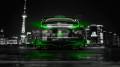 Honda-Civic-Type-R-Back-Crystal-City-Car-2014-Green-Neon-design-by-Tony-Kokhan-[www.el-tony.com]