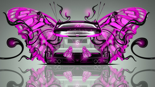 Honda-Civic-Type-R-Back-Fantasy-Butterfly-Car-2014-Pink-Neon-design-by-Tony-Kokhan-[www.el-tony.com]