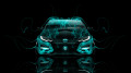 Honda-Civic-Type-R-Front-Azure-Fire-Car-2014-HD-Wallpapers-design-by-Tony-Kokhan-[www.el-tony.com]