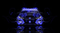 Honda-Civic-Type-R-Front-Blue-Fire-Car-2014-HD-Wallpapers-design-by-Tony-Kokhan-[www.el-tony.com]