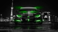 Honda-Civic-Type-R-Front-Crystal-City-Car-2014-Green-Neon-design-by-Tony-Kokhan-[www.el-tony.com]