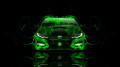 Honda-Civic-Type-R-Front-Green-Fire-Car-2014-HD-Wallpapers-design-by-Tony-Kokhan-[www.el-tony.com]