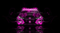 Honda-Civic-Type-R-Front-Pink-Fire-Car-2014-HD-Wallpapers-design-by-Tony-Kokhan-[www.el-tony.com]
