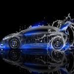 Honda Civic Type-R Side Water Car 2014