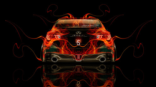Infiniti-Q50-Back-Fire-Abstract-Car-2014-HD-Wallpapers-design-by-Tony-Kokhan-[www.el-tony.com]