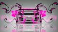 Lamborghini-Gallardo-Back-Plastic-Flowers-Car-2014-Pink-Neon-design-by-Tony-Kokhan-[www.el-tony.com]