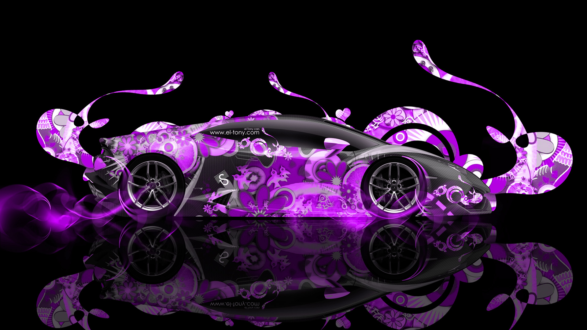 Lamborghini Huracan Super Abstract Car 2014 El Tony