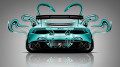 Lamborghini-Huracan-Tuning-Back-Azure-Plastic-Car-2014-design-by-Tony-Kokhan-[www.el-tony.com]