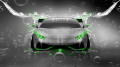 Lamborghini-Huracan-Tuning-Front-Water-Car-2014-Green-Neon-design-by-Tony-Kokhan-[www.el-tony.com]