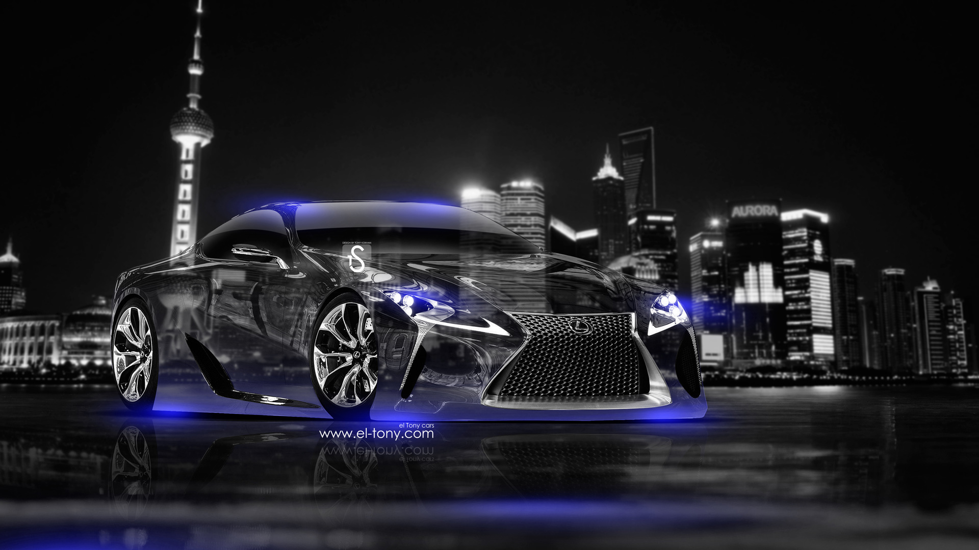 Superbe Lexus LF LC Crystal City Car 2014