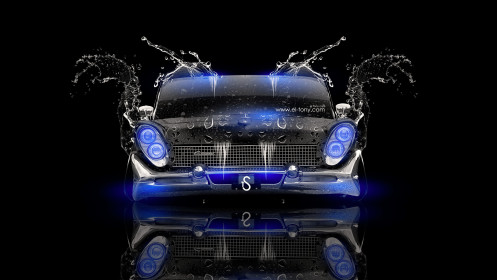Lincoln-Continental-Mark-3-Retro-Water-Tuning-Car-2014-Blue-Neon-design-by-Tony-Kokhan-[www.el-tony.com]