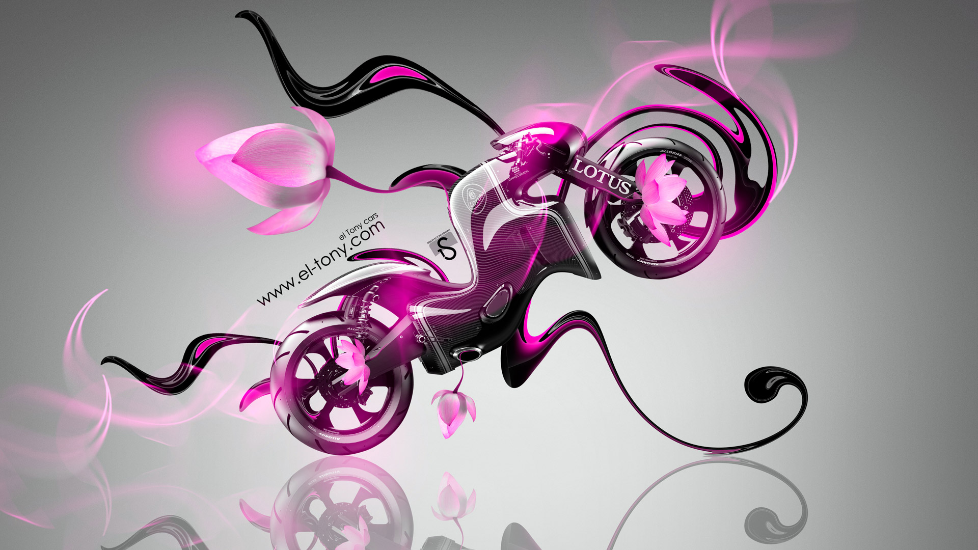 Nice Lotus C 01 Fantasy Flowers Moto Bike 2014