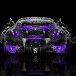 Maserati Berlinetta Back Water Car 2014