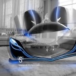 Mazda Furai Crystal Home Fly Car 2014