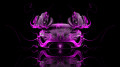 McLaren-P1-Open-Doors-Front-Pink-Fire-Car-2014-HD-Wallpapers-design-by-Tony-Kokhan-[www.el-tony.com]