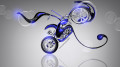 Mini-Chopper-Fantasy-Plastic-Bike-2014-Blue-Neon-HD-Wallpapers-design-by-Tony-Kokhan-[www.el-tony.com]