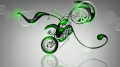 Mini-Chopper-Fantasy-Plastic-Bike-2014-Green-Neon-HD-Wallpapers-design-by-Tony-Kokhan-[www.el-tony.com]
