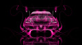 Mitsubishi-Lancer-Evolution-JDM-Back-Pink-Fire-Car-2014-HD-Wallpapers-design-by-Tony-Kokhan-[www.el-tony.com]