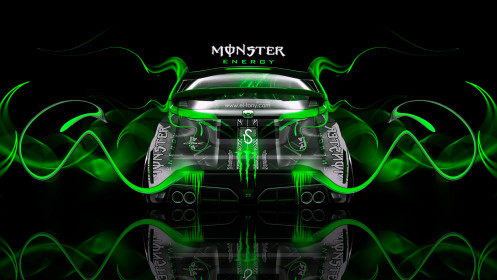 Monster-Energy-Honda-Civic-Type-R-Green-Plastic-Car-2014-design-by-Tony-Kokhan-[www.el-tony.com]