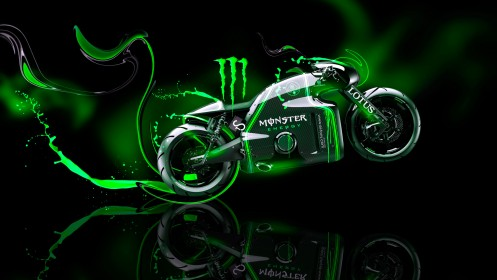 Monster-Energy-Lotus-C-01-Fantasy-Plastic-Bike-2014-Green-Neon-design-by-Tony-Kokhan-[www.el-tony.com]