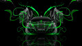 Monster-Energy-McLaren-MP4-12C-Open-Doors-Green-Neon-Plastic-Car-2014-design-by-Tony-Kokhan-[www.el-tony.com]